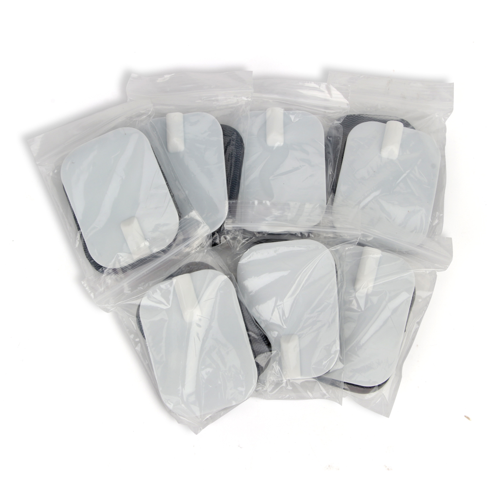 New Massager Patch 100pcs lot 50 pair 6 4cm Tens Electrode Pads Pin Type Physical Therapy