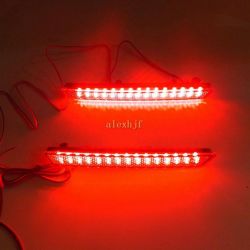 Korrik Qershor Car Dritat e frenave LED + Rasti i dritës që drejton - Dritat e makinave - Foto 5