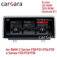 Navi screen update for 3 Series F30 F31 F34 F35 4 Series F32 F33 F36 Android 8.1 touch screen GPS stereo dash multimedia player