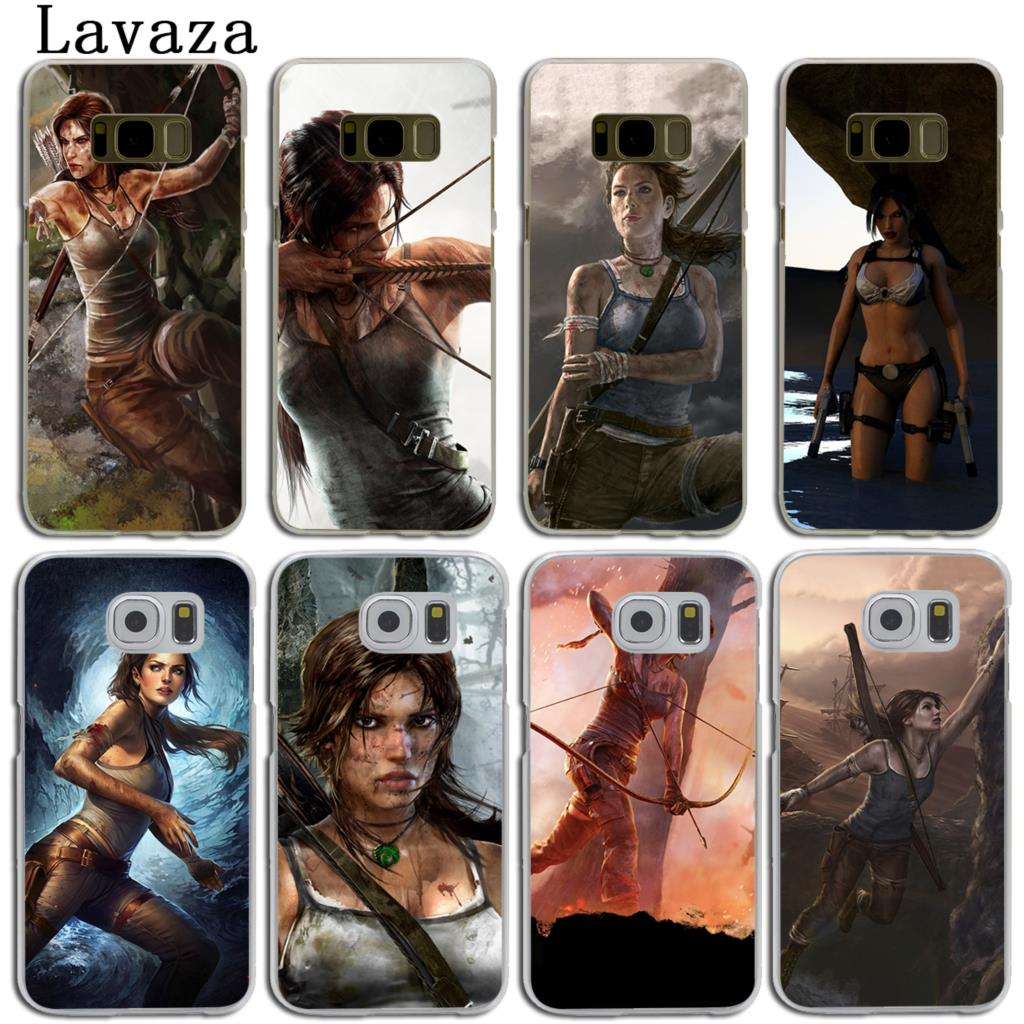 Lavaza Rise Of The Tomb Raider фильм жесткий кожи телефон чехла для samsung Galaxy S7 S6 край S3 S4 s5 и мини S8 S9 плюс крышка ...
