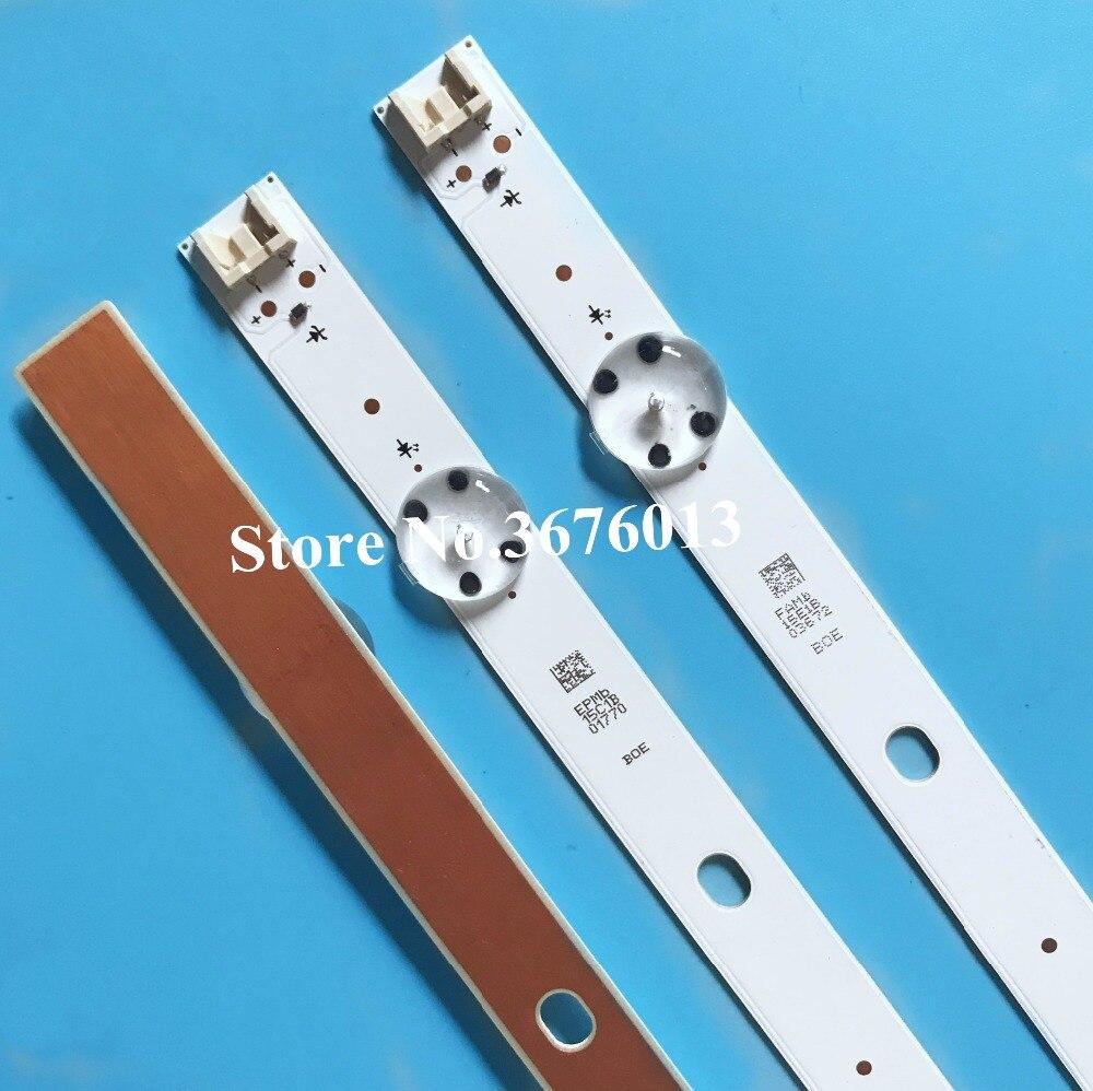 New 5set 10 PCS 5LEDs 590mm LED strip for LG 32LH510B 32LH51 HD S SSC 32INCH