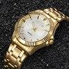 CHENXI TOP Band Luxury Famous Wristwatch Men S Watch Erkek Kol Soati Male Clock Golden Quartz