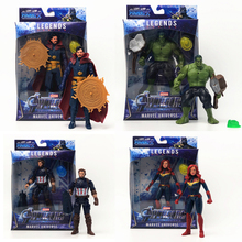 Marvel Avengers Endgame Super Hero Hulk Doctor Strange Thanos Hulk Captain America Display Model Colletion Toy Marvel Toys Gift marvel universe hero pa change peter jackson s king wolf joint diy do model doll goods of for display rather for toys gift