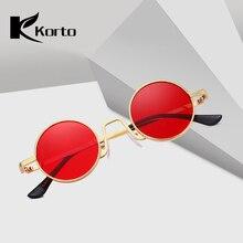 b34fcc6866d88 90 S Mulheres Óculos De Sol Redondos Hippie Retro Óculos de Sol Homens  Óculos Zonnebril 80