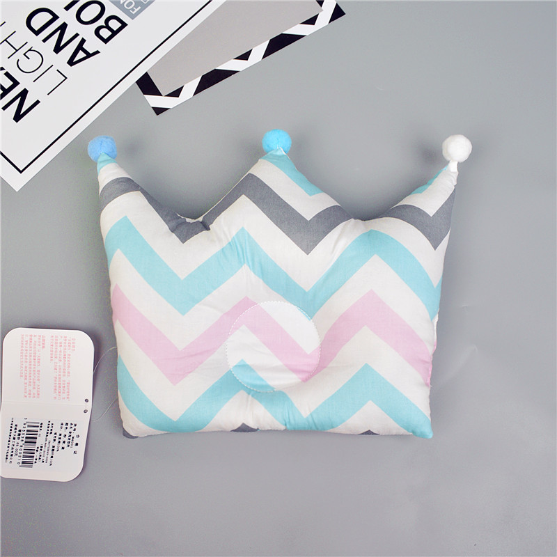 Shaping Pillow Baby Newborn Cute Backrest Cushion 0-1 Years Old Anti-head Correction Pillow Bedroom Bedding Room Decoration  9