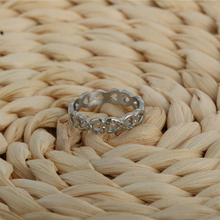 8 sharp Wedding Ring silver Color rings