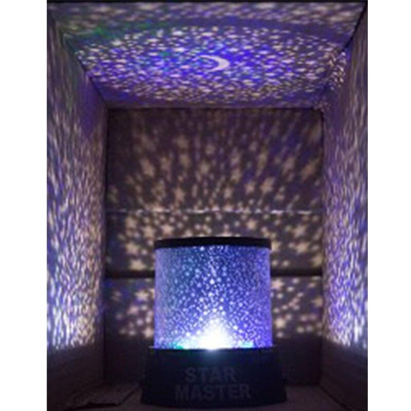 Etoiles ciel étoilé LED veilleuse projecteur Luminaria lune nouveauté Table veilleuse batterie USB veilleuse pour enfants cadeau