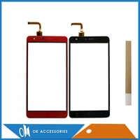 """5,5 """"Für Mobile BQ BQ-5503 BQ 5503 Nizza 2 BQS 5503 BQS-5503 Touchscreen Glas Digitizer Rot Schwarz Farbe mit Band"""