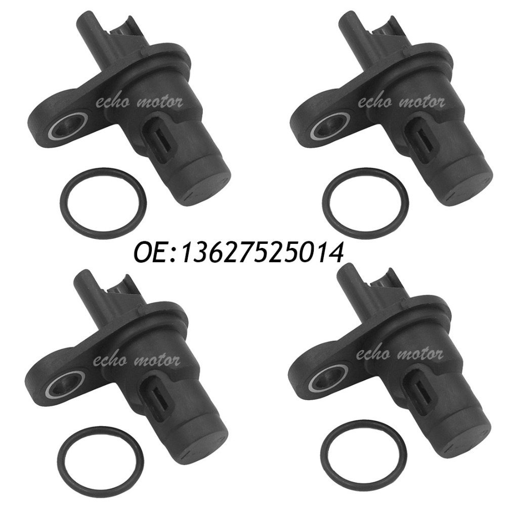 New 4pcs Sensor Camshaft Position for BMW 1 2 3 4 5 6 7 X Z Series 228iX 335is M3 428iX 525xi 550i 640i 740Li X6 Z4 13627525014 eesx472 sensor mr li