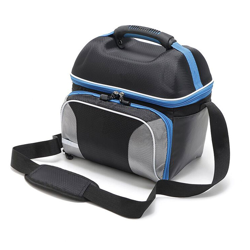 14L Oxford plastic portable heat preservation bag shawl portable Extra Large Thickening Cooler Bag Ice Pack Insulated Bag