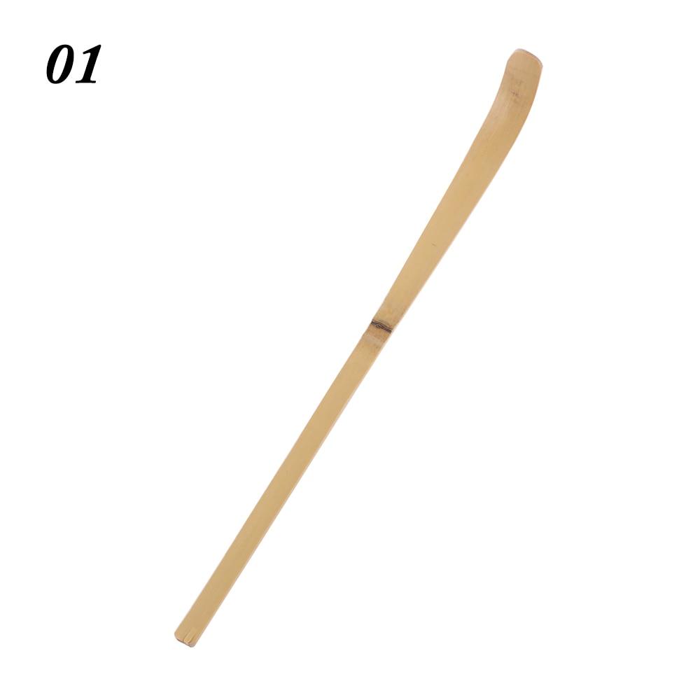1 шт. ручная работа бамбуковая чайная ложка для чая палочки чайная церемония Аксессуары Ретро расслабляющий фермерский стиль совки чай в стиках инструмент - Цвет: 1