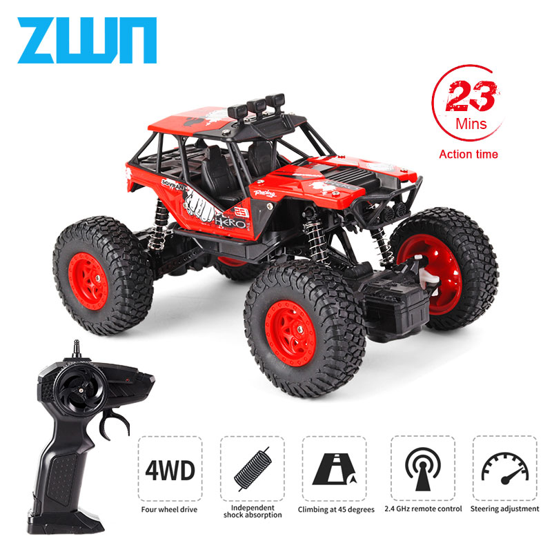 ZWN Q66 Q67 RC Car 1:20 Short-Course Racing Car 2.4G Radio Remote Control Truck RC Crawler Off-Road Climbing Car Toy RTR