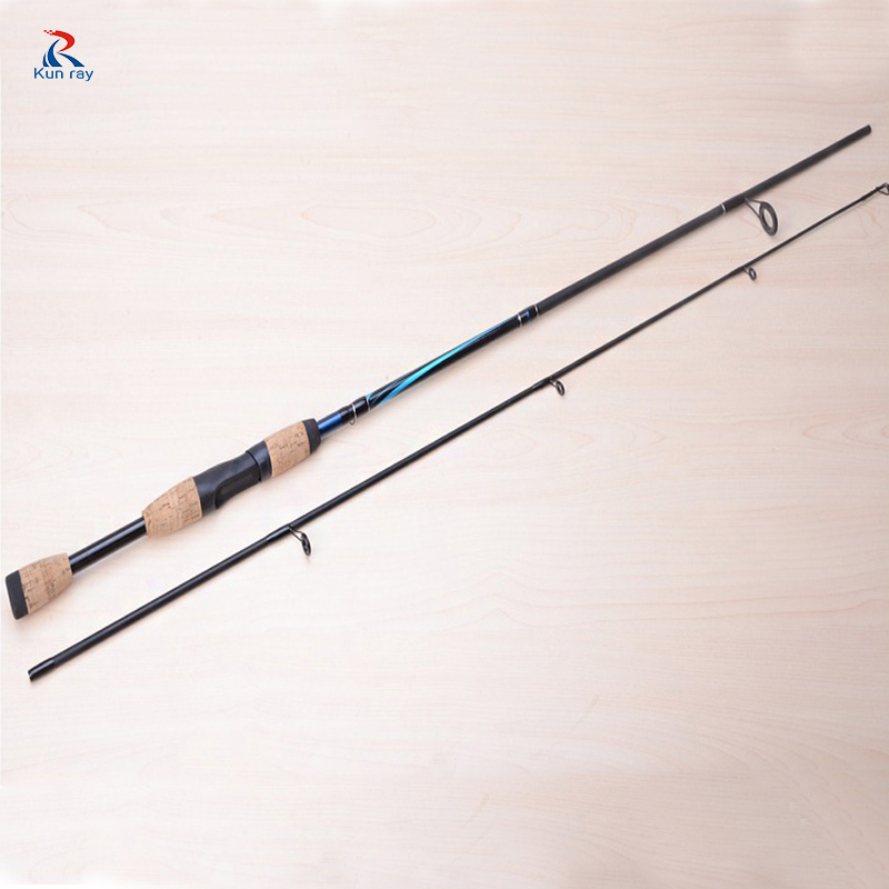 2 Tip Spinning Fishing Rod 7 M actions 6-12g lure weight Salt Water Fly Fishing Bait Casting Rod Hard