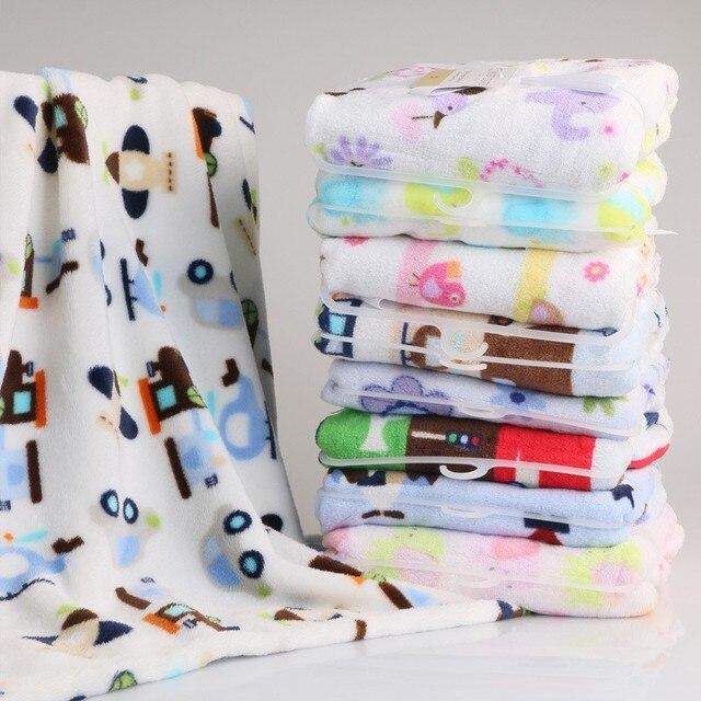 Плюшевые Детское Одеяло Новорожденный Пеленальный Wrap Супер Мягкие Детские Nap Одеяла Животных Манта Bebe Cobertor Bebe Уход