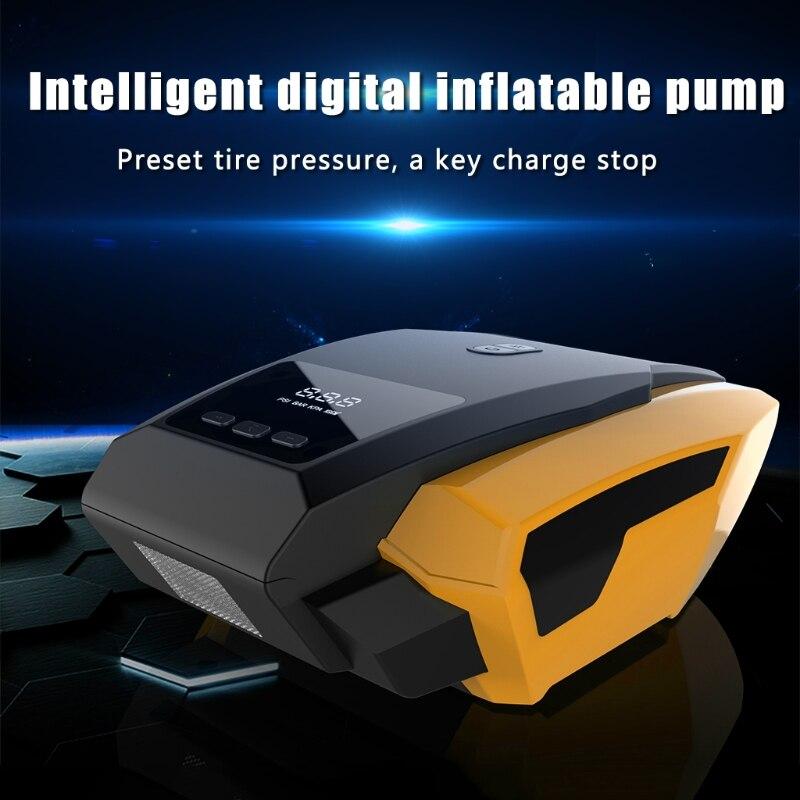 Digital Display Air Compressor Auto Car Electric Tire Inflator Pump Portable 12V