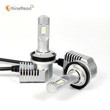 Турбо вентилятор маленький размер play & plug 12 V h11 супер светодиодные фары h11 H7 H8 H9 HB3 HB4 HIR2 для автомобильной для HID фар Замена