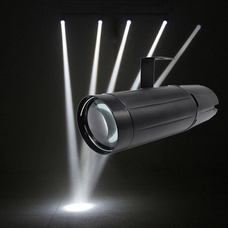5W White Led Pinspot Light Wash Narrow Beam Pinspot Lighting Mount Spotlight Projector For KTV Dance Floor Celebration Party