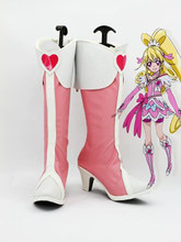 Pretty Cure Aida Mana Cure Heart Cosplay Boots Shoes Anime Party Cosplay Boots Custom Made for Adult Women Shoes(China)