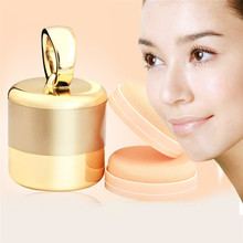 Electric Cosmetic Puff Vibrating Make Up Tool Foundation Applicator Boxed With 2 Extra Puffs q71010