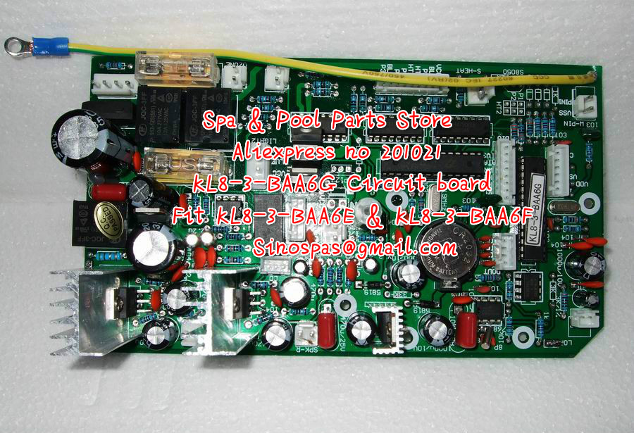 KL8 3 BAA6G Circuit board replacing KL8 3 BAA6E 42 KL8 3 BAA6F 40