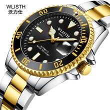 waterproof watch Fashion ultra-thin steel belt quartz watch simple business luminous trend 38 цена и фото