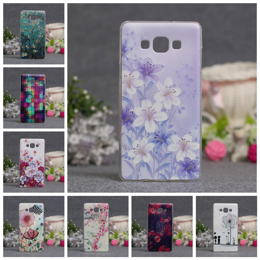 For Samsung Galaxy A7 2015 <font><b>Case</b></font> <font><b>A700</b></font> A700F Cover Soft Silicon Fundas Coque 3D Bags For Samsung A7 2015 Phone <font><b>Cases</b></font> 5.5'' Shell image