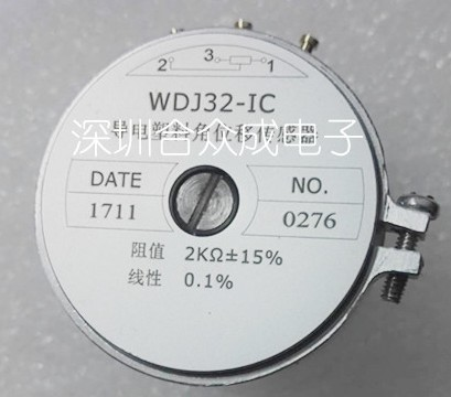 [VK] WDJ32-IC 1K 2K 5K 10K Conductive plastic potentiometer 0.1% SWITCH [vk] helipot r257c 10k conductive plastic potentiometer 360 degree turn switch