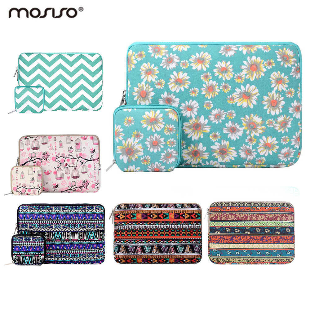 Mosiso 11.6 11.3 15.6 Women Bohemia Sleeve Case Bag for Macbook Air 11 13 Mac Pro 13 15 Acer Chromebook