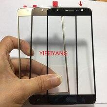 10pcs באיכות מגע מסך LCD קדמי חיצוני זכוכית עדשה עבור Samsung Galaxy J7 ראש 2 2018 G611 G611FF g611DS פנל