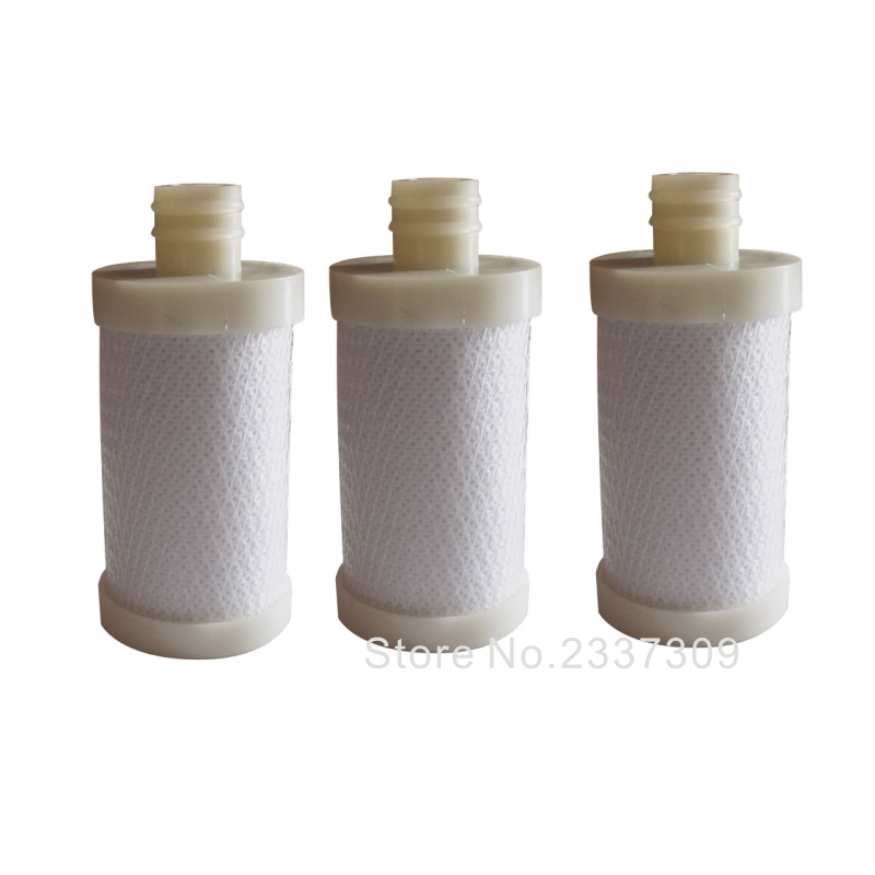 3pcs/lot durable water purifier ceramic Activated Carbon filter Cartridge for Faucet Tap Inner Ceramic Cartridge