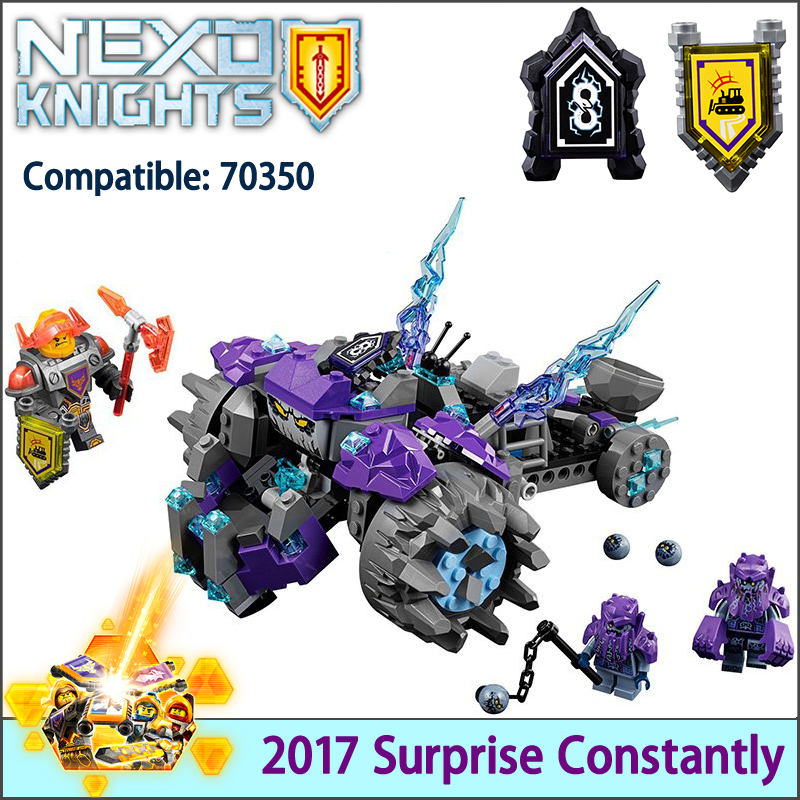 Building Kit 10595 Nexus Knights The Three Brothers Kids gift bricks toys compatible with Lepin 70350 Blocks Set Toys 2017 lepin 14026 nexus knights building blocks set lance vs lightening minifigures kids gift bricks toys compatible with 70359
