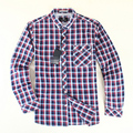 2016 New Spring and Autumn Men Plaid Shirt Classic England Style Brand Cotton Long-sleeve Shirt Plus Size M/L/XL/XXL