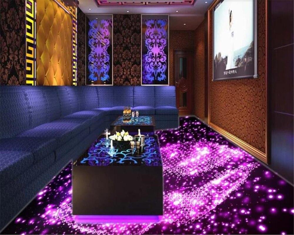 Beibehang Vinyl Wall Fashion Personality 3D Wallpaper Home Interior Mural Bar 3D Floor Wallpaper Wall 3 D Papier Peint Mural 3d