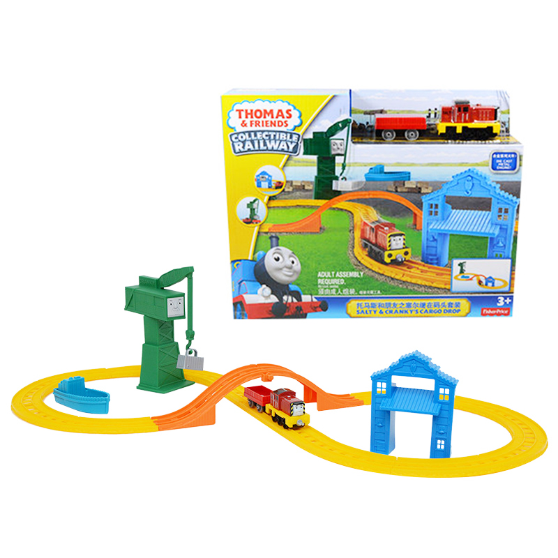 Original Brand Thomas And Friends Searl's On The Wharf Suit Children's Toys Educational Toys The Best  Birthday Gift For Kids