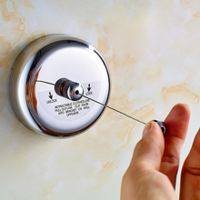 Stainless Steel Wall Hanger Retractable Indoor Clothes Magic Drying Rack Towel Clothesline clothes dryer