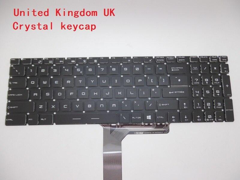 Clavier d'ordinateur portable Pour MSI GS60 2QD-478CN 2QE-018CN 2QE-215CN 6QC-257XCN 6QD-257XCN 6QE-090CN 2QE-616US 6QE-002US 6QE-054US