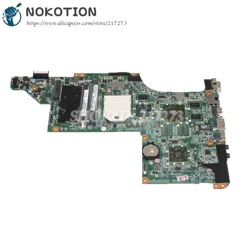 NOKOTION DA0LX8MB6E1 630833-001 For HP Pavilion DV7-4000 Laptop motherboard Socket s1 Free cpu HD5470 graphics high quality laptop motherboard fit for hp pavilion dv7 4000 dv7 4100 laptop motherboard 615688 001 100