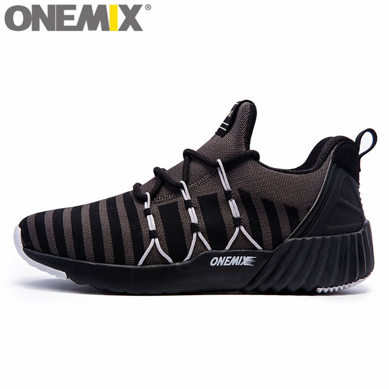 ONEMIX Winter High Light Running Shoes For Men&Women Knit Stretch Fabric Height Increasing Sneakers Men Female Walking Boots