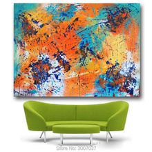 jackson pollock Abstract Art Canvas Painting Embrace the Warmth Wall art On canvas Oil Hand Painted no framed