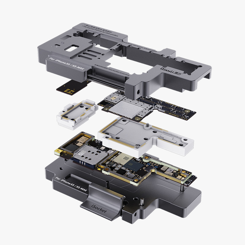 2019 New Version Qianli iSocket Motherboard Tester for iPhone XS XSMAX Mainboard Fast Test Fixture HolderPower Tool Sets   -