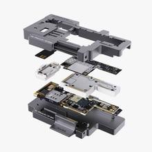 Qianli comprobador de placa base isofket para placa base IP XS XSMAX, soporte de fijación de prueba rápida, nueva versión 2020