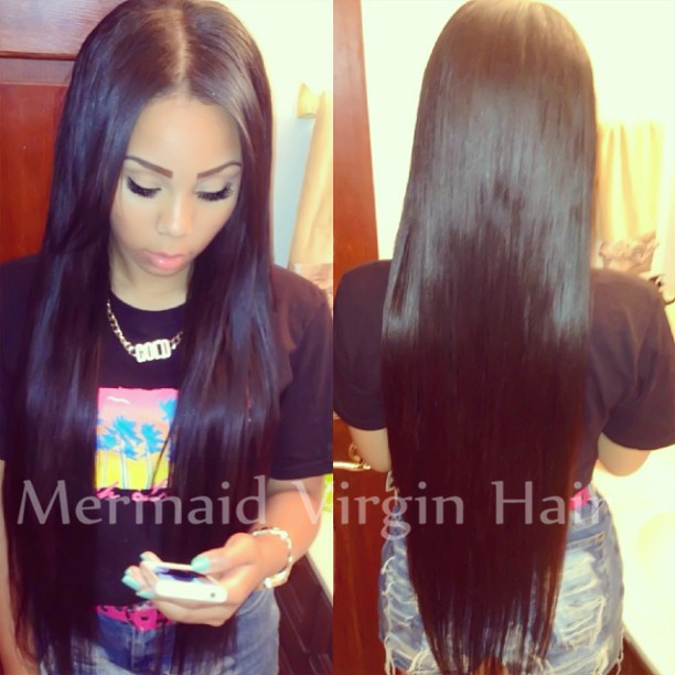 2015 Hot Silk Straight Brazilian Virgin Hair Full Lace Human Hair Wigs Lace Front Wigs Glueless Full Lace Wig For Black Women