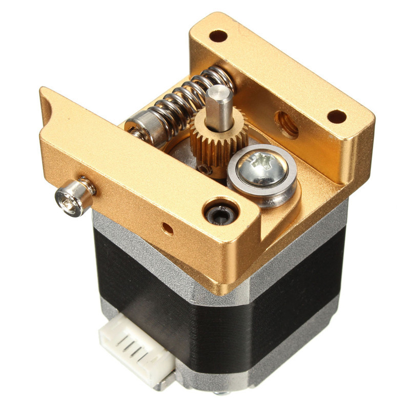 3D Printer Aluminum Extruder Kit NEMA 17 Stepper Motor 1.75mm 1.7A 2000g RepRap Prusa i3 3D Printer Parts