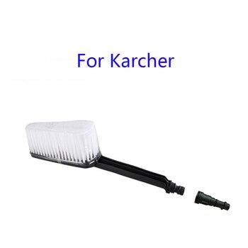 Cepillo suave y denso rugoso, limpieza sin esfuerzo, área grande, conectar con pistola de alta presión para Karcher