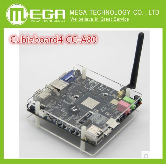 Бесплатная доставка 1 компл. Cubieboard4 CC-A80 Высокопроизводительных Мини Совет По Развитию ПК Cubieboard A80 Версия 3.0