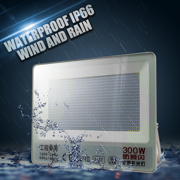 30W 50W 100W 150W 200W Led Floodlight Waterproof Ip65 Led Spotlight Outdoor Garden Led LigthsWhite Transparent Floodlight New