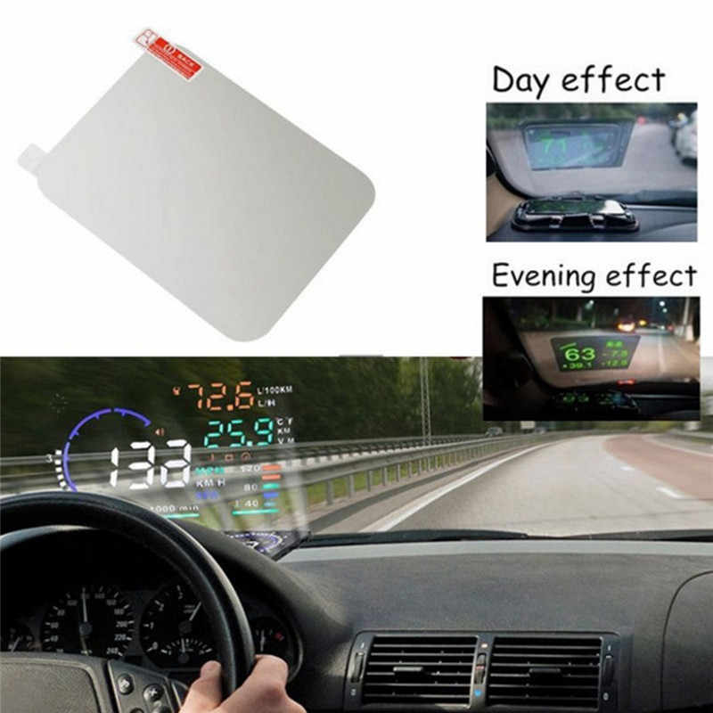 Protective Reflective Screen Consumption Overspeed Display Car Styling Car HUD Reflective Film Head Up Display