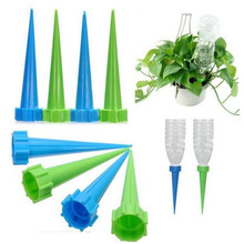 New 10pcs Plant Flower Irrigation Automatic Watering Nozzles Bottle Irrigation Garden Drip Water Spike For Gardent Home Office