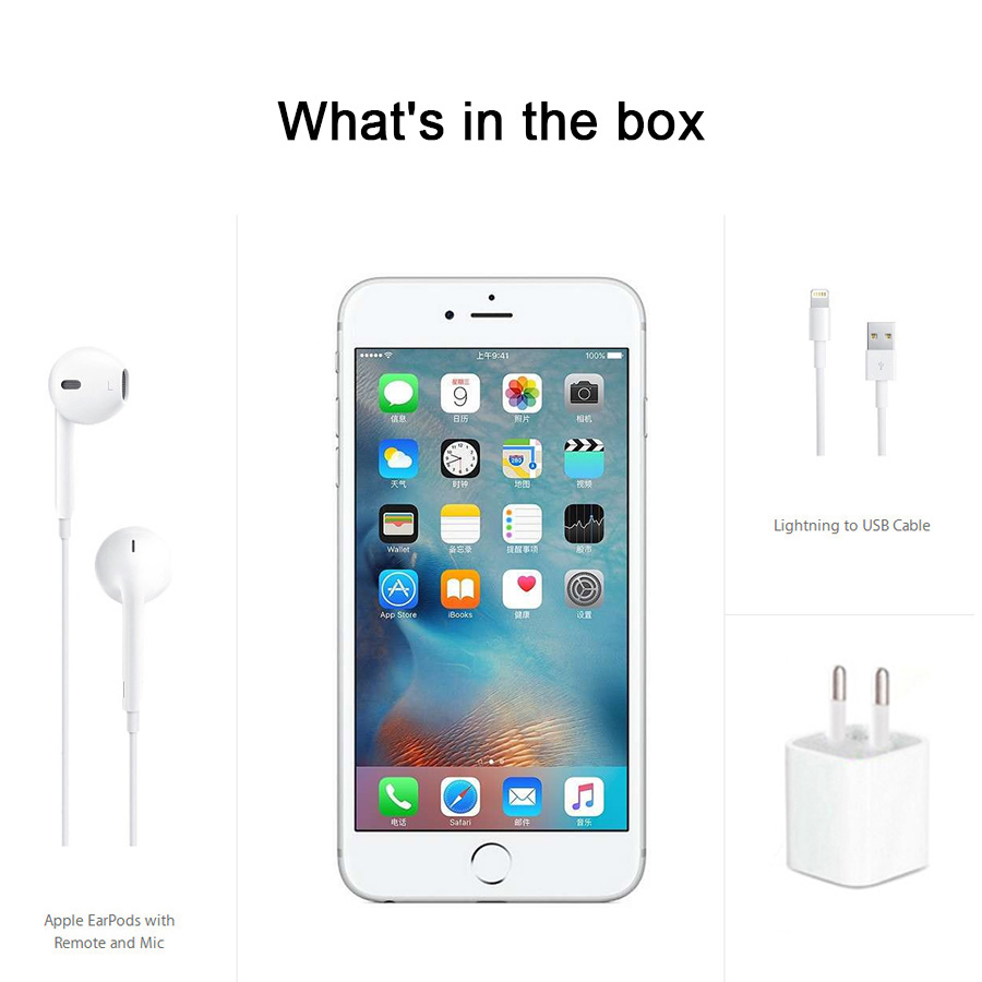 "Image 5 - Apple iPhone 6S Plus iOS Dual Core 2GB RAM 16/64/128GB ROM 5.5"" 12.0MP Camera LTE fingerprint Unlocked Mobile Phone iPhone 6S-in Cellphones from Cellphones & Telecommunications"