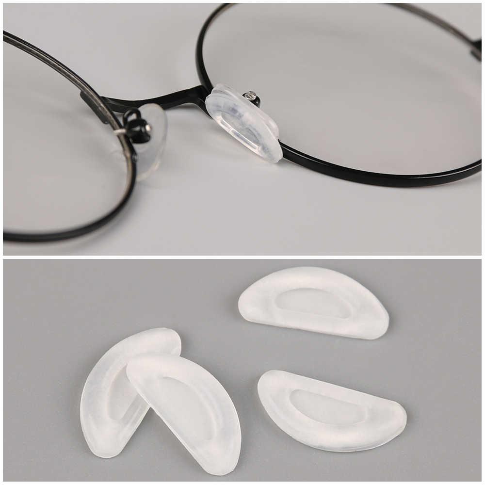 2019 Nova 5 Pares Anti Derrapante Silicone Almofadas Nariz Para Óculos Óculos De Sol Óculos de Vidro Adesivo Nosepads Óculos Acessórios
